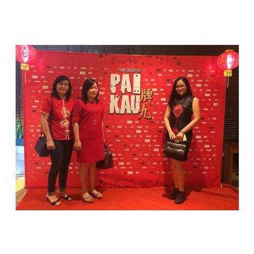 The wait is over! Hari ini #filmpaikau dari @archipelagopictures premiere, tunggu tanggal mainnya ya ❤️❤️ .....#clozetteid #jenntan #jennitanuwijaya #LYKEambassador #indonesianmovie