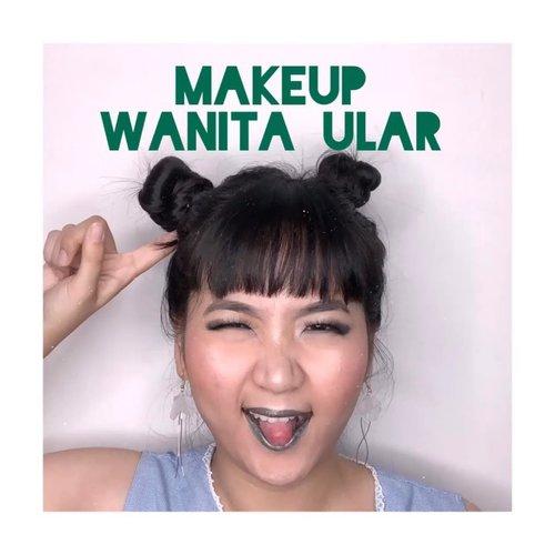 Makeup yang terinspirasi dari wanita ular di acara gosip dan siluman di indosiar. 🤣.All products @mineralbotanica 💕.......#clozetteid #cchannelbeautyid @cchannel_beauty_id #kbbvfeatured @kbbv.id #beautiesquad @beautiesquad @tips__kecantikan #beautybloggerindonesia #bloggermafia #indonesianfemaleblogger #tampilcantik @tampilcantik #fdbeauty #indobeautysquad @indobeautysquad #jenntanmakeup #zonamakeupid @zonamakeup.id #indobeautygram #ivgbeauty @indobeautygram @ragam_kecantikan #tutorialmakeuplg #makeuppemula #tutorialmakeupkece #tutorialmakeupindo #tutorialmakeupvideo #caramakeup #tutorialdandan