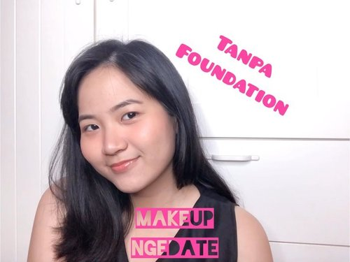 Anti repot sama foundie melting!! ..Deets:@getthelookid infallible full wear@mineralbotanica acne loose powder@mybeautypediaid hey cheek palette@altheakorea eyebrow pencil#maybellineindonesia shine compulsion @holikaholika_indonesia jellyme highlighter.....#clozetteid #jenntanmakeup #cicireceh #makeuppemula #tutorialmakeuplg #tutorialmakeupindo #tutorialmakeupkece