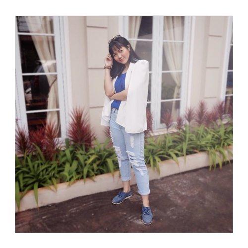 Happy satnite! Hari ini ngedate kemana gengs?😜😜 . . . . . . . . . #clozetteid #fashioninfluencers #ggrepstyle  #whatiweartoday #fashionpeople #stylebloggerindo #urbanfashionista #lookbookindonesiainspired #fashionphotographyindo #beautynesiamember #indonesianfemaleblogger #indonesianfemalebloggers #jenntanwears