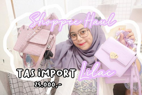 Guys! Ada video baru nih di Youtube Channel aku💜 Link di Bio aku yaaa✨#shopeehaul #shopeepayday #clozetteid