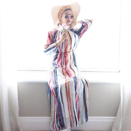 Let Good Times Roll 🍃@pomelofashion #trypomelo ______________________________#ootd #ootdhijab #hijabootd #hijab #hijabstyle #dailyhijab #ootdhijabindo #pomelosummercollection #pomelosummer2019 #ootdasean #ootdindo #clozetteid #ootdfashion #ootdhijabnusantara #fashionblogger