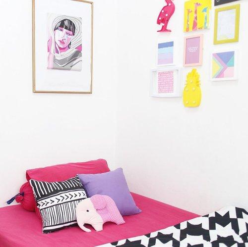 Singgasana tempat membangun mimpi dan asa 🐒_______#clozetteid #roomdecor