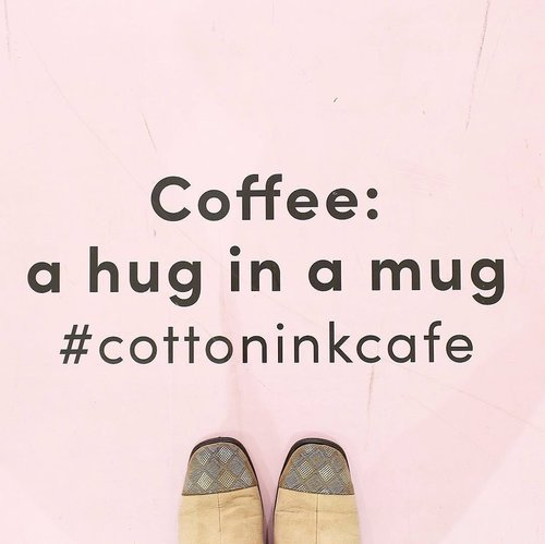 For perfect saturday ☕️ _________________________ #bloggerlife #coffeequotes #fromwhereistand #pinkplace #explorejakarta #clozetteid #starclozetter #tumblrquotes #tumblrgirl #tumblraesthetic