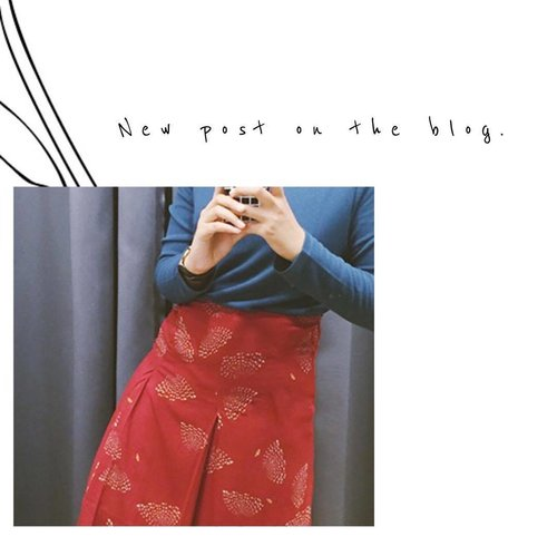 Yuk cek keseruan acara preview Uniqlo X Hana Tajima 2016 Fall/Winter Collection di blogku. Link at my profile. . . . #clozetteid #uniqloxhanatajima #fashionblogger