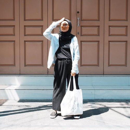 Dear self,keep going. Hang in there.____________#ootd#modestfashion#hijabfashion#makmakindie#clozetteid