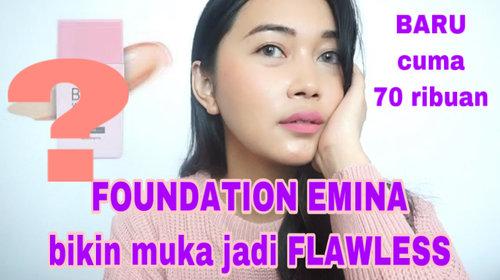 "EMINA (new product) ""Mineral Mild Foundation"" – Beibytalks"