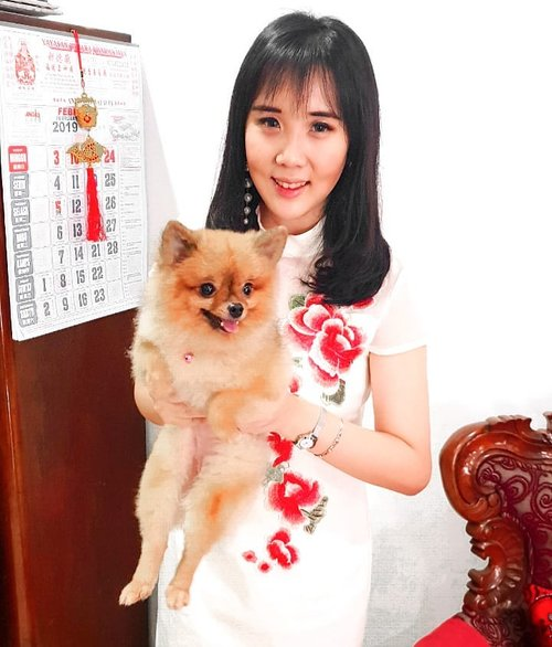 Playing with Chili again ❤.Check out myculinarydiary.com for more awesome post.......#ootd #photooftheday #travel #anjinglucu #doggylove #doglovers #dog #dogs #pomerian #minipom #dogsofinstagram #minipomerian #cutedogs #dogs #lookbook #fblogger #wiwt #japan #fashionblogger #outfitoftheday #korea #clozetteid #pompom