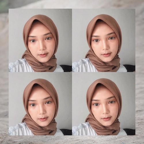 "//tak ingin post ""muka selayar"" wanita ini menggabungkan empat foto yang sama dalam satu postingan//.judulnya renyah!.make up detail ga boleh ketinggalan, biar kek ciwi ciwi urban walaupun #mekapkuretjeh Softlens : @eyelovin - mini ava brownMoisturizer : LanocremeSunblock : @virabeauty_sc Foundation : @foccalure Skin Evolution (04-natural)Eyebrow : @foccalure eyebrow pen (03-black)Eyeshadow : @foccalure matte & electric PRO eyeshadow paletteMascara : @missha 4D mascaraConture & Highlighter : @foccalure matte & electric PRO eyeshadow paletteLip : @nyxcosmetics_indonesia lingerie (seduction).sekian.#motd #mukaselayar #foccalure #missha #nyx #clozette #clozetteid"