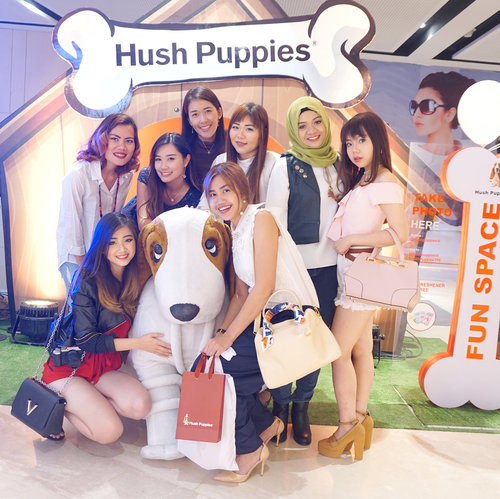 Like i said bfore 💁🏻 I'll post more pics about @hushpuppiesid Re-Opening on @tunjungan_plaza 6 🐶 [Swwwiiipppeee!!!!!!!] 💋 Anw i'm really Thank you for you who coming, and also sorry for you who attend but didn't met me >< My bad... Hoping can meet you in other events🙌🏻 The nearest event will be on This 26 with @byscosmetics_id on Pakuwon mall #surabaya!! It's Free!! Regis your self by email!  Kiki@teguh-pesona.com  Well, see y there 💋  #clozetteid #beautynesiamember #lykeambassador #cotd #hushpuppiesid