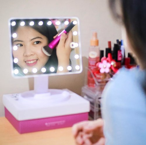 [ #lumiroirvanity ]PS: Love yourself at the first place!Finally got my vanity mirror from @lumiroir ❤️