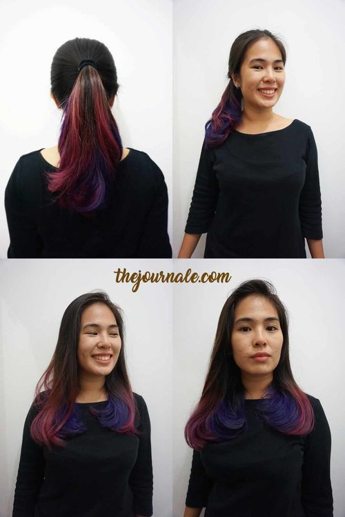My lovely hair after Hair Treatment by Keune. This lasted until three days! #ClozetteID #StarClozetter