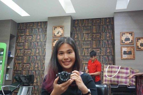 After Hair Treatment by Keune. I think my hair looked pretty good. :D #ClozetteID #StarClozetter