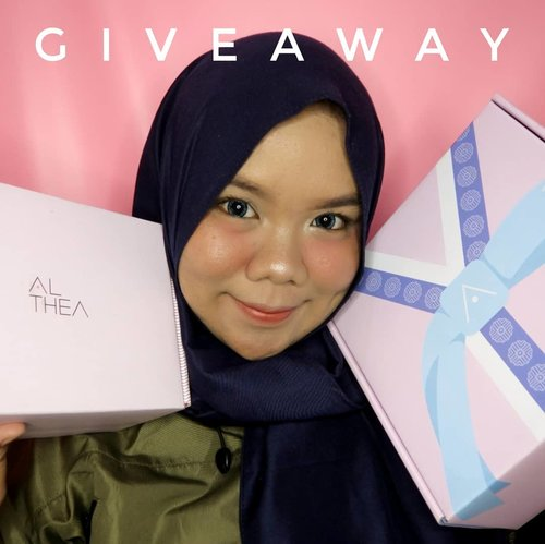 [Giveaway Time]Mau dapetin Althea Box senilai 320k++? Yuk ikutan #NandsGiveaway aku kali ini.Caranya cukup jawab pertanyaan di Youtube Channel aku dan jangan lupa subscribe jugaaaa.Info lengkapnya ada di https://youtu.be/CtsbJESfYjAAku klik link di bio💕💕.#giveawayindo #giveawaymakeup #giveawayhunter #giveawayindonesia #giveawayalthea #clozetteid #infogiveaway #kuisberhadiah #giveawayaltheaindonesia #altheaangels