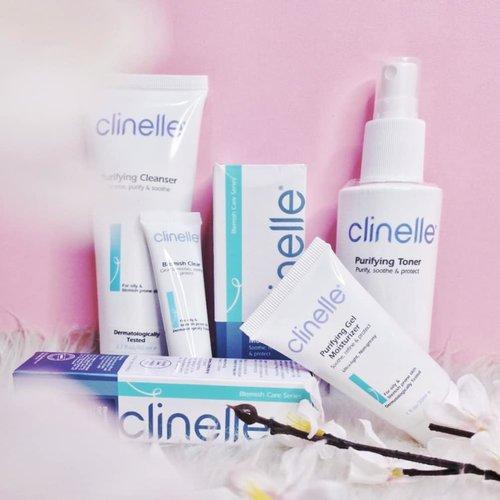 Clinelle kini hadir dengan produk rangkaian mereka yaitu Clinelle Purifying Series untuk kamu yang berjerawat. Ini suka sih aku, apalagi moisturizernya. Reviewnya ada di nands.id ya *Ga bisa foto pake muka, anaknya lagi alergi bentol bentol banget, sad huhu @clinelleid @clozetteid #MyAcneMyJourney #withClinellePurifying #ClinelleIndonesia  #Clozetteid #skincare #ClinelleXClozetteIdReview