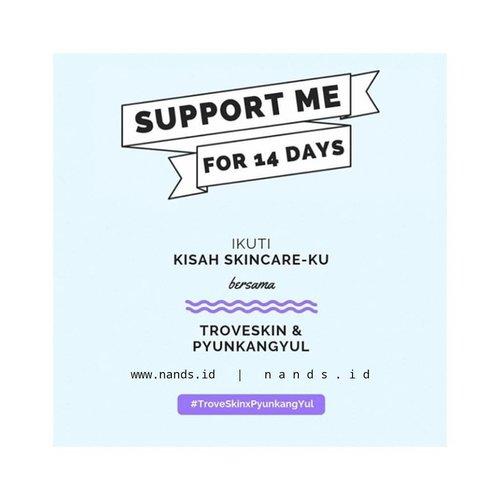 #Day1 - 5 November 2018Hey selamat hari senin, ma belle! Hari ini aku akan mulai untuk ikut tantangan 14 hari dari @troveskin_id untuk menggunakan produk dari @pyunkangyul Yuk dukung aku menyelesaikan tantangan kali ini!#troveskinxpyunkangyul #troveskin #troveskinindonesia #l4l #clozetteid #skincarechallenge #challenge