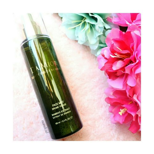 Have u try Da Mior Face Mist with Natural Bamboo? You can use this as spray for your skin, use as sheet mask, as your setting spray, or use it before go to sleep. @damior_official Face Mist with Natural Bamboo is da ultimate moisturizer that makes your skin illuminate with the freshness of Bamboo.Get yours at hicharis.net/anisanurrananda/6Z5---#damior #beautyinsidebamboo #charis #charisceleb @charis_official #facespray #settingspray #moisturizer #clozetteid #beautygoersID @beautygoers #beautiesquad @beautiesquad