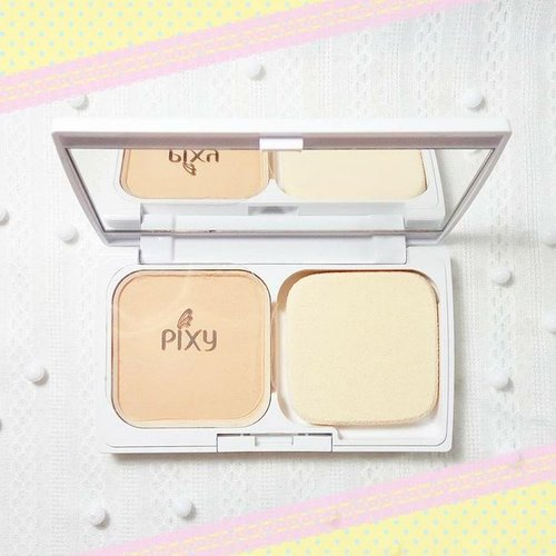 Here's one of local makeup brands that impress me @pixycosmetics 😍. Please meet this beauty:🌸Pixy Two Way Cake Cover Smooth🌸✔ Super recommended buat anak kuliahan✔ Harga pas dikantong ( below 50K )✔ Low coverage but gives you a very smooth, natural and fresh finish✔ Praktis & Travel friendly✔ Mengandung SPF 30 & PA+++Yang paling penting adalah:✔ Tahan lama di wajah! #pixyindonesia #pixytwowaycake #coversmooth #minireview #localbrand #clozetteid