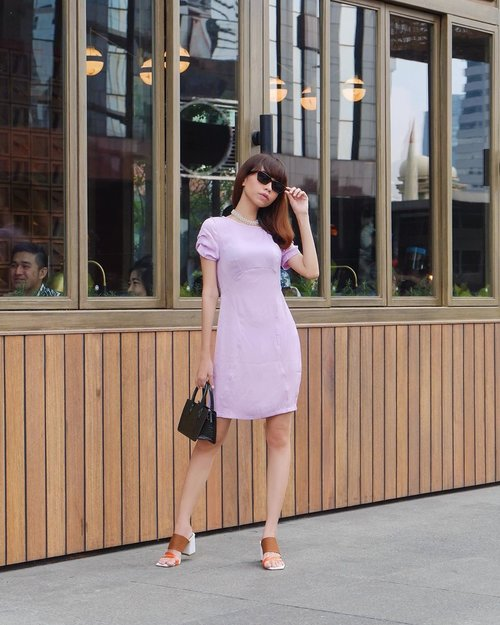 I'm so in love with lilac💜✨ ( tap for details) . . . . .  #whatiwore #bloggerstyle #fashion #styleblogger #fashionblogger #ootd #lookbook #ootdindo #ootdinspiration #style #outfit #outfitoftheday #clozetteid
