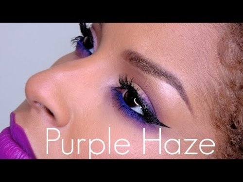 How To | Purple Haze.. A Smokey eye tutorial - YouTube