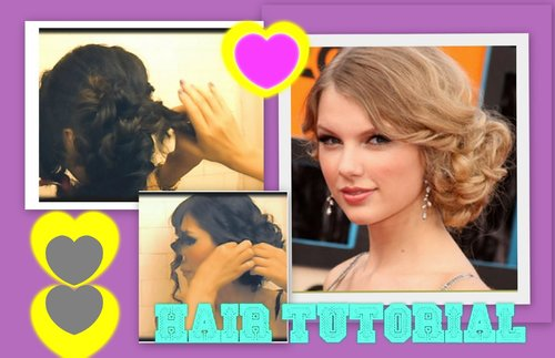 ★ TAYLOR SWIFT HAIR TUTORIAL | CUTE HAIRSTYLES | CURLY MESSY BUN UPDOS for MEDIUM LONG HAIR | PROM - YouTube