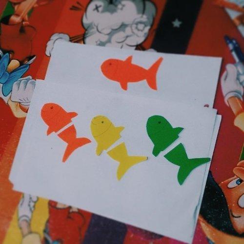 Selanjutnya main jodoh-jodohan. Eh matching colors pakai tubuh ikan dibelah dua #kejam 😒 . Kepala ikan oranye mana pasangannya? Lihat contoh di atas ya. Warna kepala dan ekor ikan harus sama. . #toddleractivities #playathome #preschool #invitationtoplay #maindirumah #idemain #ayomain #bermainsambilbelajar #learnthroughplay #preschoolathome #homeschooling #playideas #playbasedlearning #busykids #busytoddler #preK #funlearningathome #developingthewholechild #playidea  #mommyblogger #socialmediamom #kidsofinstagram #photooftheday #likesforlikes #clozetteID