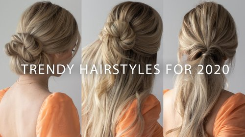 NEW Easy Hairstyles For 2020🌟🔥 - YouTube