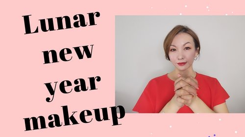 Chinese New Year makeup 2020 | Glass skin makeup effect - YouTube