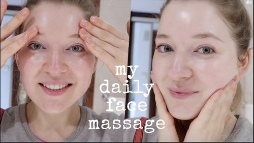 Easy Face Massage For The 30 Year Old - YouTube