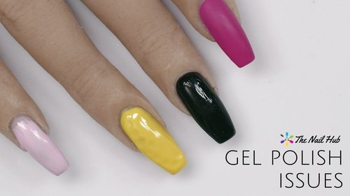 Top 5 Gel Polish Issues & How to Fix Them - YouTube
