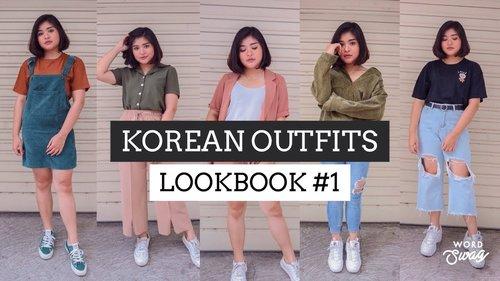 KOREAN OUTFITS LOOKBOOK #1 | Rachel Cynthia - YouTube