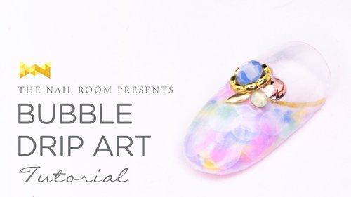 Bubble Drip Art Nail Tutorial - (www.NEIRU.me) Japanese Nail Art Tutorial [HD] - YouTube