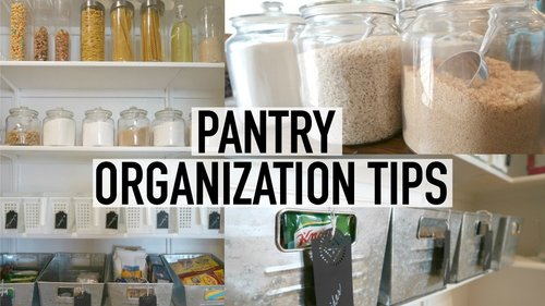 PANTRY ORGANIZATION + TOUR | 10 TIPS FOR AN ORGANIZED PANTRY | ORGANIZE WITH ME - YouTube