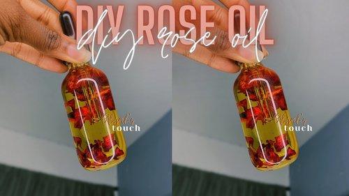 ENTREPRENEUR LIFE 4: MAKING MY ROSE FACIAL OIL || DIY ROSE OIL FOR SKIN - YouTube