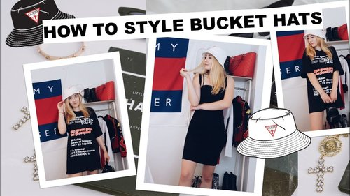 how to style bucket hats - YouTube
