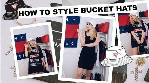 how to style bucket hats - YouTube