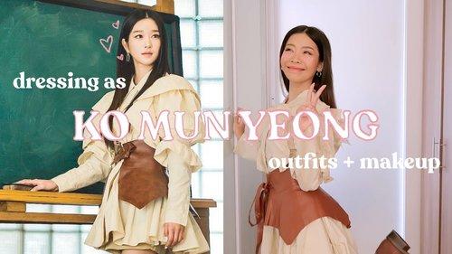 Dressing as Ko Mun Yeong (SEO YE-JI) IT'S OKAY TO NOT BE OKAY   Rhea Bue - YouTube