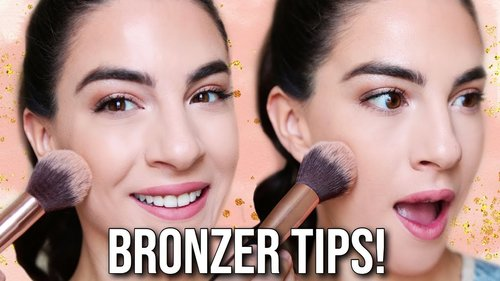 HOW TO APPLY BRONZER | BEGINNER - YouTube