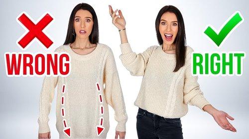 7 Ways You're Wearing Your Shirts WRONG! - YouTube