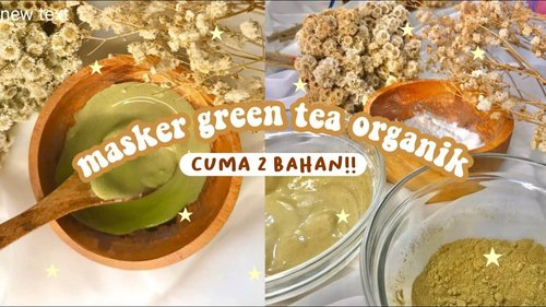 DIY green tea latte organic mask! - YouTube