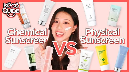 ☀️ PHYSICAL vs CHEMICAL Sunscreen☀️ What's Best For Your Skin?   HIKOCO - YouTube