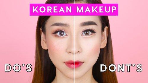 Korean Makeup Do's and Don'ts | TINA YONG - YouTube
