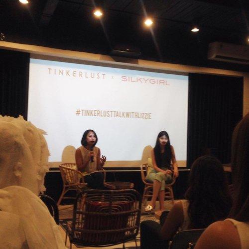 Opening speech #TinkerlustTalkwithLizzie - #TinkerlustTalk @Tinkerlustid x @byLizzieParra #TinkerlustTalkxLizzie #TinkerlustTalkwithLizzie #beautydiary #beautybloggerindonesia #beautybloggerid #beautyblogger  #bvloggerid #clozetteid #clozetter #clozettedaily #blogger #beautiesquad #atomcarbonblogger
