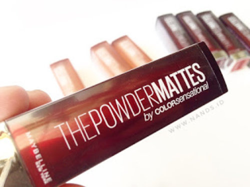 Nand's by Anisa Nurrananda: [Review] : Maybelline The Powder Mattes by COLORsensational