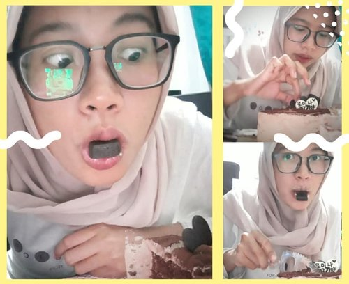 🎉🍫🎂🍫🎉...#WelcomeFebruary #BirthdayMoment #BeGrateful #makeawish #happymoment #february #februarymoments #birthdaymoment #instamoment #ultah #aquarius #chocolate #coklat #chocolatebar #chocolatelover #chocolateaddict #sweetooth #chocoholics #smile #photooftheday #clozetteid #everydaymadewell #hijab #mystyle #hijaboftheday #lifestyle #selfie #happy