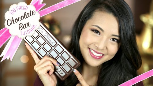 Chocolate Bar Makeup Tutorial! - YouTube