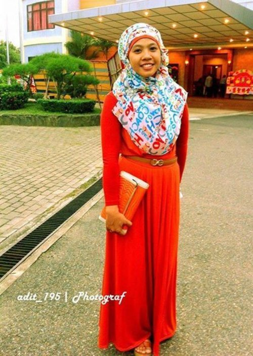 Orange #weddingparty #Vintagelook #indosatsnap #VintageLook, #IndosatSnap