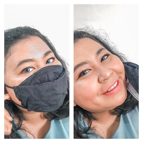 NEW NORMAL MAKE UP CHECK!.New normal bikin mengubah cara dandan kita karena takut make up kita nempel di masker. Jangan khawatir, dari hasil recreate IG filter @maybelline, aku menemukan make up yang cocok untuk kita aplikasikan sehari - hari dan nyaman. ❤️.Produk yang aku pakai:Maybelline Fit Me Foundation 330Maybelline Age Rewind Concealer 122Maybelline Fit Me Matte + Poreless Powder 128Maybelline Hyper Sharp LinerMaubelline Hyper Curl MascaraMaybelline Super Stay Matte Ink 175.Gimana? Mirip gakk? Cakep banget buat kita aplikasikan buat aktivitas sehari - hari.#weareready #maybellineindonesia.#newnormal #coronavirus #bodypositive #bodypositivity #percayadiri #plussizeindonesia #selfie #makeup #makeupideas #makeuplife #makeuplook  #makeupobsessed #lotd #lipsoftheday  #bigsizebeauty #beautyinsize #plussizestyle #makeupvideo #makeupaddiction #makeupaddicted #makeuplover  #makeupinspiration #makeuptutorial #clozetteid