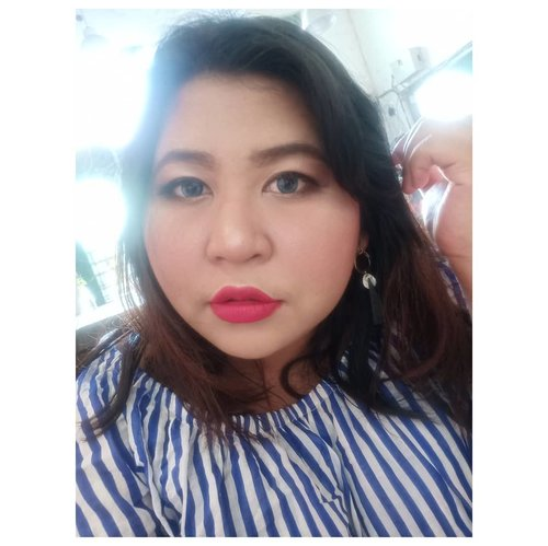 Long time no selfie.  #lookbyvina . . . #motd #faceoftheday #fullfacemakeup #clozetteid #fotd #makeupoftheday #fulllips #nofilterneeded #nofilter