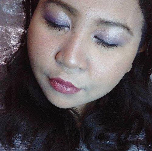 💮 Butterfly Kiss 💮  Using: • Revitalash Fineline Primer • Emina Beauty Bliss (Natural) • Covermark Realfinish Fave Color (12) • Viva Bedak Keluarga (Krem For Baking • MakeOver Silky Smooth Translucent Powder (Champagne) • Just Miss Eyebrow (Brown) • Mizzu Gradical Eye Shadow (Velvet Plum) • Mizzu Perfect Wear Eyeliner • Missha 4d Mascara • Wardah Intense Matte Lipstick (Chocotown)  #lookbyvina . . . #makeup #makeupoftheday #makeupfreak #makeupgeek #fotd #faceoftheday #lookoftheday #lotd #freckles #fakefrekles #selfie #balibeautyblogger #revitalash #eminacosmetics #vivacosmetics #mizzu #missha #justmiss_id #WardahBeauty #covermark #clozette #clozetteid